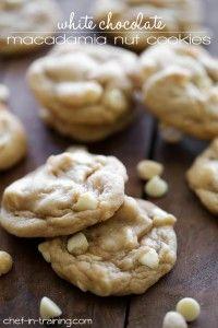 White Chocolate Macadamia Nut Cookies | Chef in Training