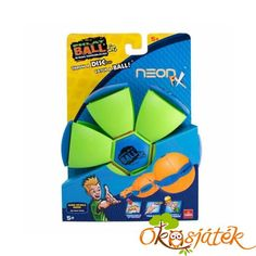Goliath Phlat Ball Jr, Neon Green: Throw a disc, catch a ball! transforms from a 5 flying disc to a ball. Random time delay adds to the fun and excitement of the game play. Small and compact for a great time anywhere! Ages 5 and up. Flying Disc, Sports Toys, Metallic Blue, Powerpuff Girls, Walmart Shopping, Beach Trip, Neon Green, Soccer Ball, Game Room