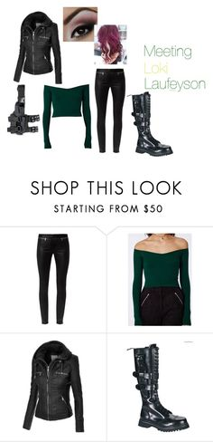 """""""Meeting Loki"""" by lana-86 ❤ liked on Polyvore featuring Alexander McQueen"""
