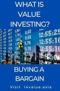 Value investing is about buying part ownership of companies. It is something you have to learn. The blog is dedicated to learning how to invest using readily available free online resources. Apart from providing the foundation concepts, there are monthly case studies of actual listed companies. A selected URLs of the resources is provided to develop 2 basic skills - how to analyse a business and how to value a business. #i4value #learntoinvest #valueinvesting #stockmarket #investment Value Investing, Investing In Stocks, Fundamental Analysis, Technical Analysis, What Are Values, Investment Books, Intrinsic Value, Risk Management