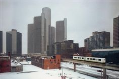Detroit in the winter...not this winter thought :)
