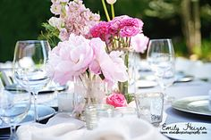 Sweet little Birds and Pink Peonies! (Holly and Shane)