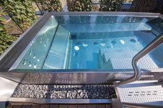 Detail of big stainless steel spa in hotel wellness Jacuzzi, Spa, Wellness, Stainless Steel, Detail, Outdoor Decor, Home Decor, Pools, Luxury Swimming Pools