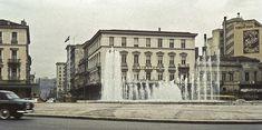 Η ιστορία της Πλατείας Ομονοίας Old Greek, Athens Greece, Neoclassical, Old World, Old Photos, The Past, Louvre, Street View, Building