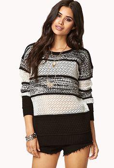Must-Have Melange Sweater | FOREVER 21 - 2019572440
