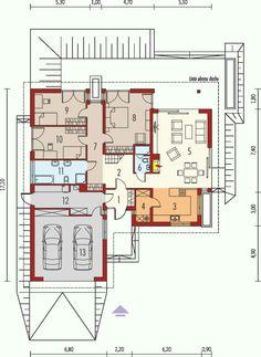 Bungalow mit integrierter doppelgarage  Erdgeschoss - Eingeschossiges Fertighaus Bungalow Jakob ...
