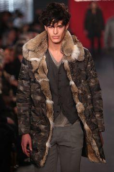 awesome fur-lined camo jacket - Alaska perfect manfurs