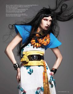 Eugenia Volodinas Vivid New Tradition Design, Lensed by Ishi for Vogue Netherlands March 2013 - 10 Fashion Mavericks, Our Planet & Human Values - Anne of Carversville Womens News
