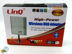Adaptador Antena Wifi USB 36 dBi Largo Alcance