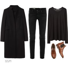 We just found our Copenhagen outfit! We hear black is kind of a big deal there..  http://www.calversandsuvdal.com