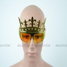 Gold King Crown Clear Glasses One Size Fancy Dress Sunglasses Party Accessories Gold King Crown, Kings Crown, Novelty Sunglasses, Cool Glasses, Royal Dresses, Party Accessories, Fancy Dress, Costume, Whimsical Dress