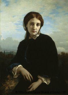 Ernest Hébert, ''Maria Pucci''   -  RMN-Grand Palais (Musée d'Orsay)
