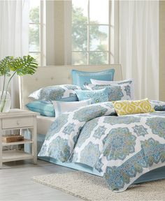 Echo Indira Comforter and Duvet Sets - Bedding Collections - Bed & Bath - Macy's