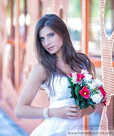 Robe de mariée, collection Angelina   Création Hanael Couture©    Crédits photo : Couleur Mandarine