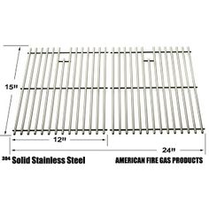 Grillpartszone- Grill Parts Store Canada - Get BBQ Parts,Grill Parts Canada: Sterling shepherd Stainless Steel Cooking Grid | R...