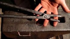 BLACKSMITHING -  Forging tongs Step By Step How to