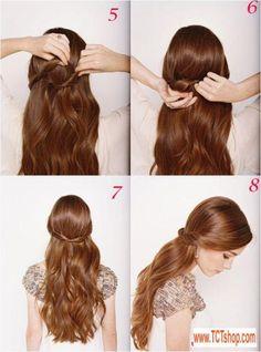 Hai kiểu tóc đẹp dịu dàng cho cô dâu