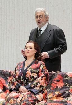 Diana Damrau - Placido Domingo in Traviata Placido Domingo, Singer Costumes, Maria Callas, Opera Singers, Concert Hall, New Life, Madness, Opera House, Musicians
