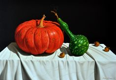 Pumpkins in Still Life Paintings - Google Search