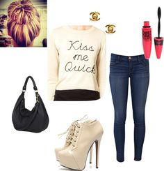 """""""Casual day #1"""" by kadygayle on Polyvore"""
