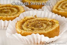 Caramel Swiss roll – Food Recipes