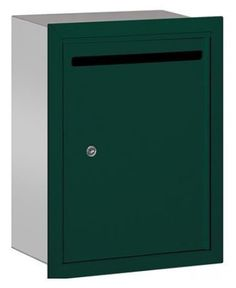 Letter Box - Standard - Recessed Mounted - Green - USPS Access by Salsbury Industries. $113.68. Letter Box - Standard - Recessed Mounted - Green - USPS Access - Salsbury Industries - 820996443557