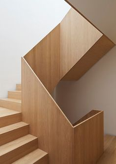 House & Extension, West London #woodstair