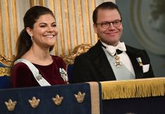 Swedish Royals attended formal gathering of Swedish Academy