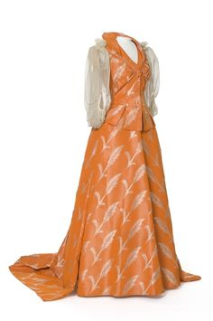 Evening Gown (image 1) | House of Worth | Paris | 1893-1894 | silk | Les Arts Decoratifs