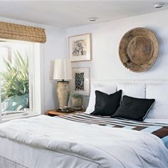 White Bed With White Walls