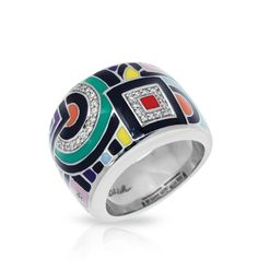 Multicolor Geometrica Ring - The Jewelers You Can Trust