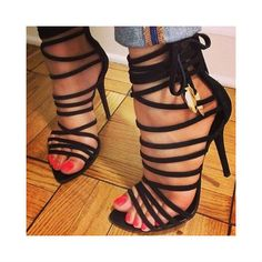 UPLOADED 14TH SEPTEMBER 2015 EDITOR'S NOTE Open Toe Gladiator Lace up High Heel Sandals Super Stylish Lace up Sandals at the perfect discount price. Top Deal!   *Most Helpful Review Pick, at 10 Sep 2015…