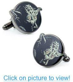 Cufflinks Inc Star Wars Yoda Head Cufflinks (SW-YODA-SL) #Cufflinks #Inc #Star #Wars #Yoda #Head #SW_YODA_SL