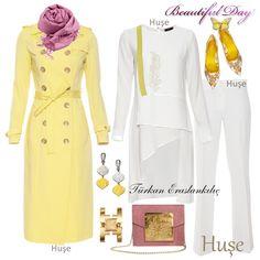 Hijab Fashion, Girl Fashion, Fashion Looks, Womens Fashion, Casual Chic Outfits, Work Chic, Hijab Chic, Hijab Outfit, Dress Up