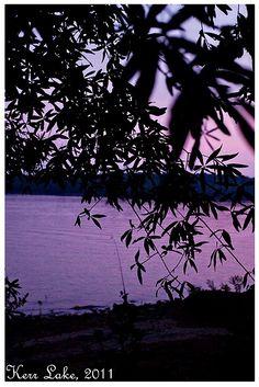 Sunset Kerr Lake, Henderson, NC