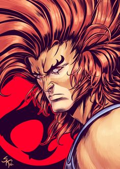 Lion-O // artwork by Serg Acuña Leader Of The Thundercats! Snarf Thundercats, Thundercats Characters, Thundercats Cartoon, He Man Thundercats, Thundercats 2011, Piercing Tattoo, Piercings, Cartoon Lion, Cartoon Costumes