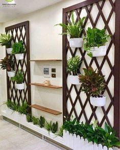 Small Balcony Design, Small Balcony Garden, Small Balcony Decor, Vertical Garden Design, Small Balconies, House Plants Decor, Plant Decor, Diy Bedroom Decor, Diy Home Decor