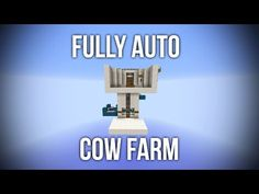 This farm lets you AFK and automatically get steak and leather without having to do anything. Minecraft Automatic Farm, Minecraft Farm, Minecraft Redstone, Minecraft Construction, Cool Minecraft, Minecraft Designs, Minecraft Creations, Minecraft Projects, Minecraft Crafts