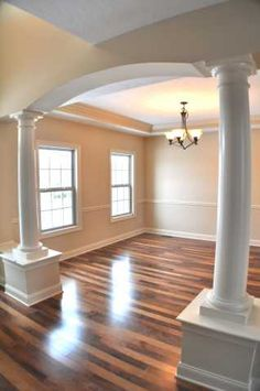 Dining Room with Columns