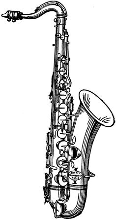 saxophone with musical notes clipart saxophones art illustrations rh pinterest com playing the saxophone clipart playing the saxophone clipart