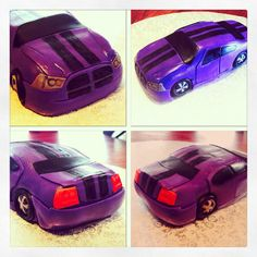 Car Cake Topper - Dodge Charger - Edible on Etsy, $65.00
