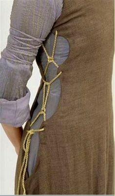 La robe lacée d'Eowyn