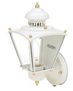 Designers Edge L-2551WH 15-1/2-Inch Photocell Dusk to Dawn Coach Lantern, White by Designers Edge. $31.89. From the Manufacturer                The Designers Edge is an international manufacturer and marketer of worklights, motion activated lighting, floodlighting, security lighting products, and landscape lighting products. Since 1987, we have built our reputation as an innovator of high quality, uniquely designed products. We have been recognized as a leader in our...
