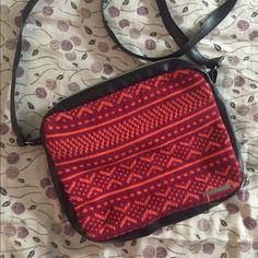 Krochet Kids Crossbody Selling this beautiful crossbody bag. I only used it once, for traveling. Other than that, it has been put away. It's very spacious. It's fits everything in this bag. If you have any comments, please let me know. Selling my stuff in order to pay for my school tuition. Accessories Bags