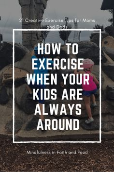 Ah, The Joys of Parenthood... Ah, I remember my life before kids. I could workout in peace without many interruptions... then my kids came along, and boy did life change. Exercising with kids around is completely different. Don't... #adietitiansexercisetips #exercisewithchildren #familyoutdoorgames