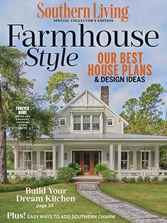 Double Hearth Cottage - Allison Ramsey Architects, Inc.   Southern Living House Plans Luxury House Plans, Best House Plans, Dream House Plans, Small House Plans, House Floor Plans, Farm Plans, Farmhouse Plans, Farmhouse Style, Modern Farmhouse