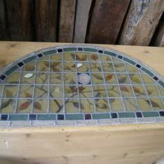 Hand painted stained glass panel - Winchcombe Reclamation Ltd: WR Bazaar