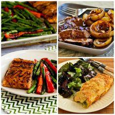 dinner menu for guests