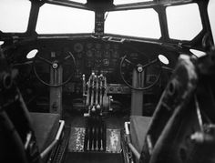 7 Squadron RAF Stirling instrument panel