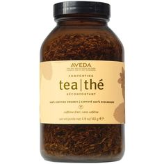 Aveda 100% Certified Organic Loose Leaf Comforting Tea (63 BRL) ❤ liked on Polyvore featuring fillers, food, fillers - brown, tea and food and drink